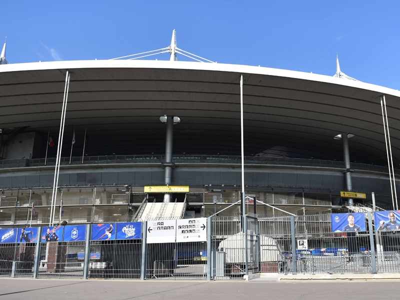 Das Stade de France in Paris St. Denis